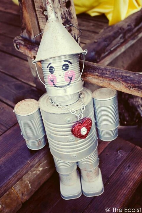 Tin can man art camp pinterest for Tin man out of cans