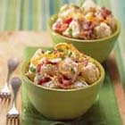 Stuffed Potato Salad. I made this as a side dish tonight and it has ruined all other potato salads for me. AMAZING.