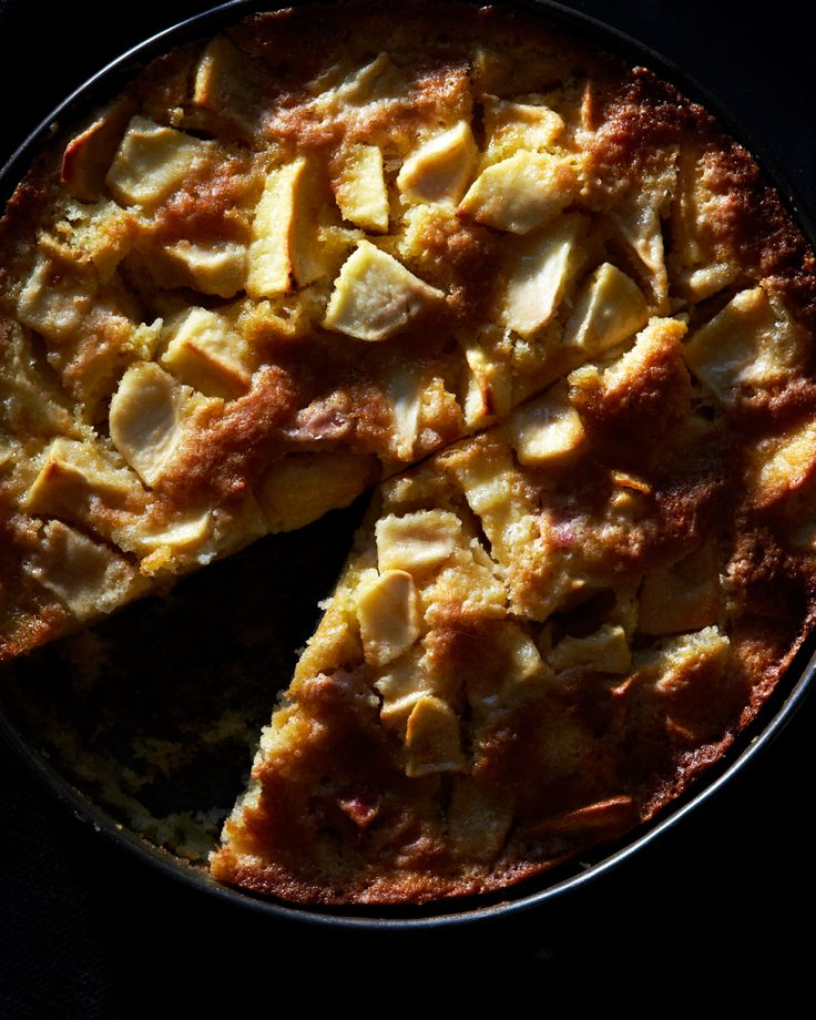 Marie Helene French apple cake