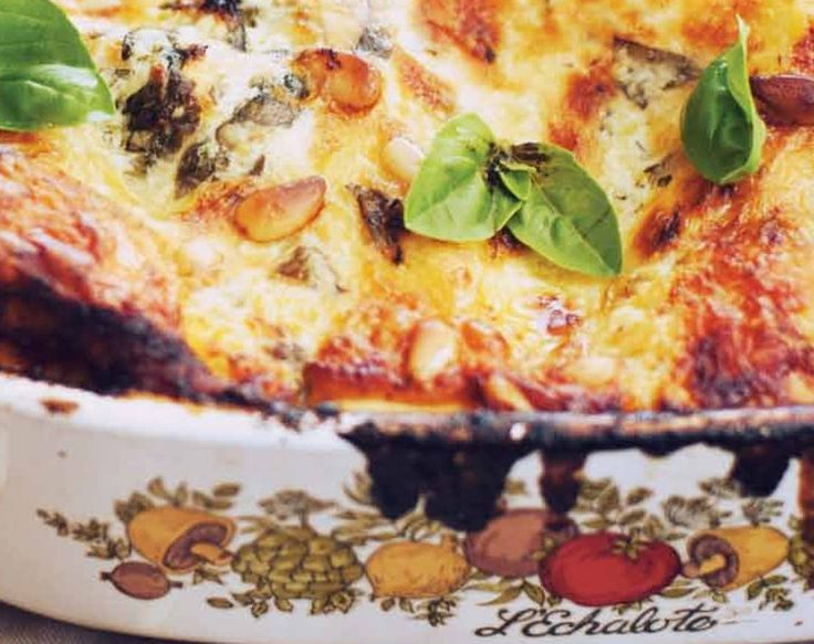 ... of cheeses. Try our roast chicken and grilled eggplant lasagna recipe