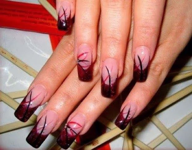 Creative and in... Unique Nail Designs Pinterest