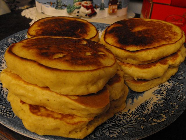 Eggnog Pancakes... I will definitely be taste testing these come ...