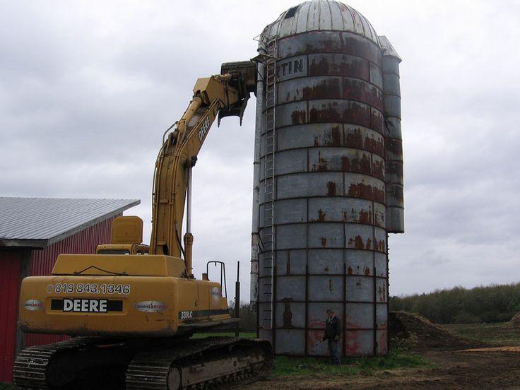 3 Silo Demolition : Silo demolitions démolition du silos pinterest