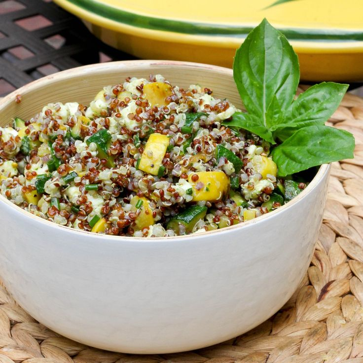 Summer Squash Salad with Quinoa | Sweet Tooth | Pinterest