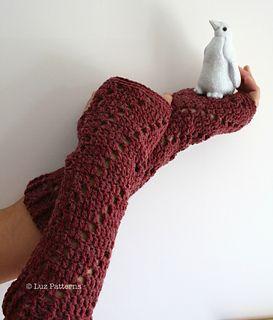 Crochet Pattern Central - Free Pattern - Wooly Wrist Warmers