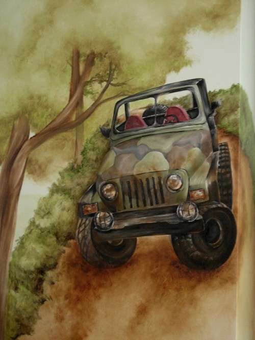 Jeep mural