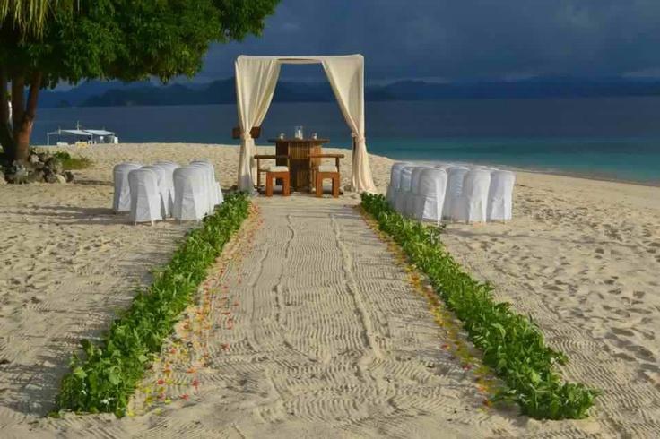 Club paradise palawan wedding