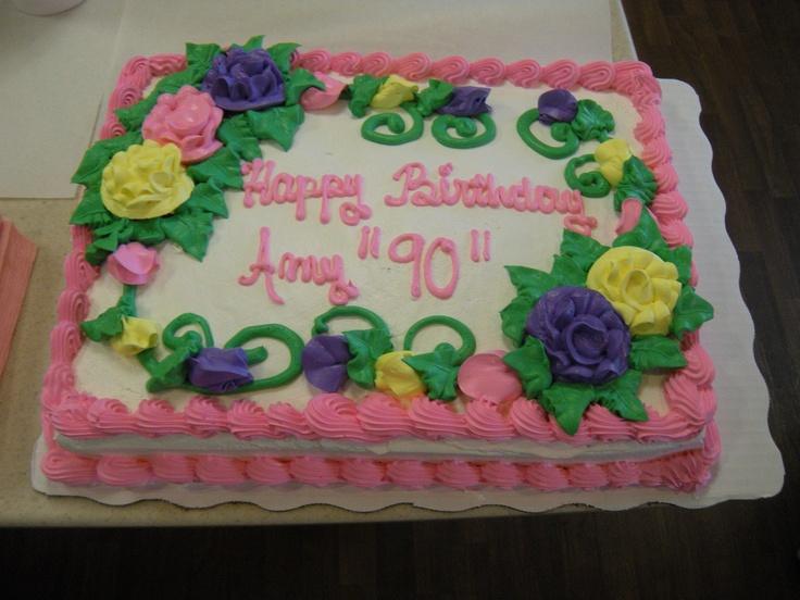 Grandmother s 90th Birthday Cake Cakes & Cupcakes ...