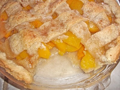 Old Fashioned Homemade Peach Cobbler | Baking | Pinterest