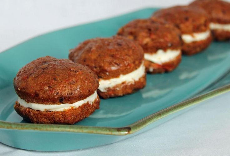 Carrot Cake Whoopie Pies | ღThe Majick Kitchenღ ~ Appetizers, Hors ...