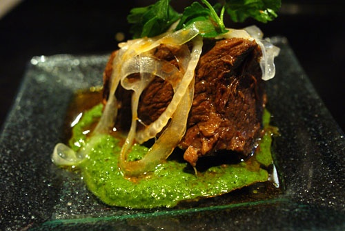 Braised Beef Short Ribs With Salsa Verde And Feta Recipes — Dishmaps