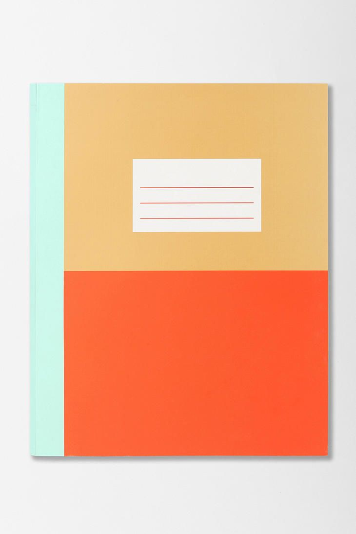 Modern Graphic Notebook, $8.00 OR 2 for $10.00  #UrbanOutfitters