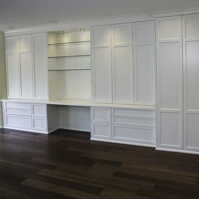 Brilliant Built In Cabinets For Office Built In Home Office Cabinets