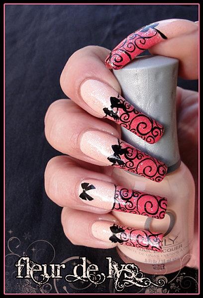 Nail Art : Romantique