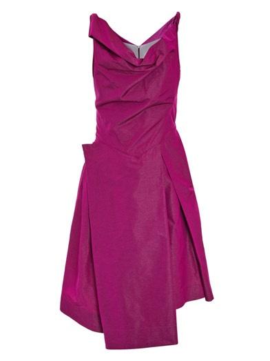 Vivienne westwood anglomania boeing taffeta dress