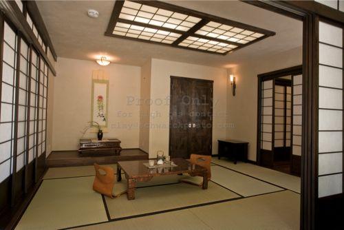 Japanese Living Room Exterior Unique Design Decoration