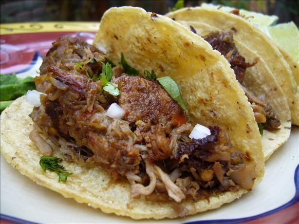 Pork Carnitas Tacos Recipe — Dishmaps