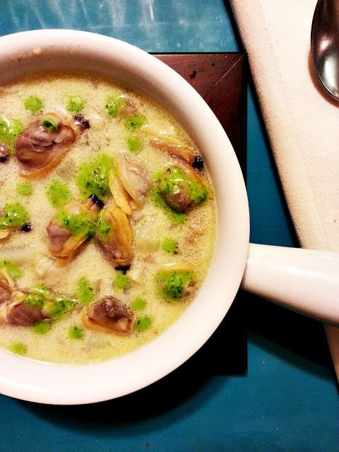miso clam chowder | Soup | Pinterest