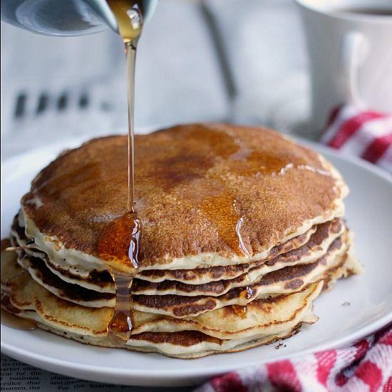 Versatile 5 Ingredient Classic Pancakes {Gluten Free, Vegan, etc ...