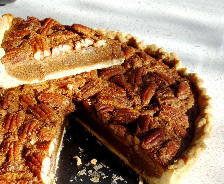 Maple syrup Pecan Pie | favorite vintages | Pinterest
