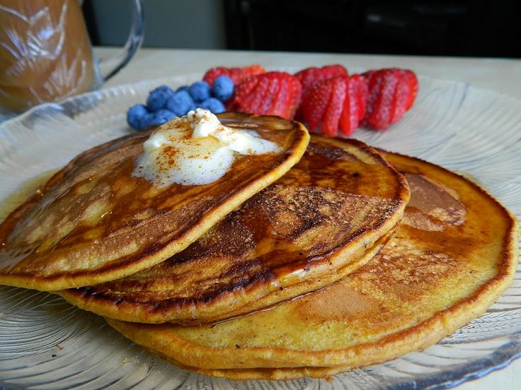 Pumpkin Cinnamon Pancakes | pancakes, waffles | Pinterest