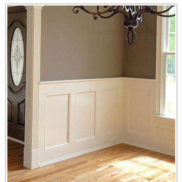 Paneling little house on post oak pinterest What to do with paneled walls