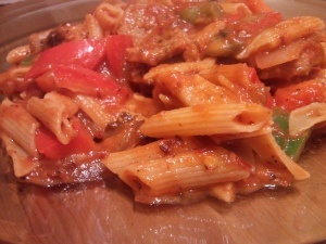Spicy Penne Pasta | Where's the beef?! | Pinterest