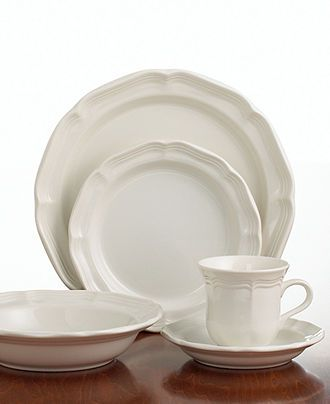 Mikasa Dinnerware, French Countryside Collection - White Dinnerware - Dining & Entertaining - Macy's