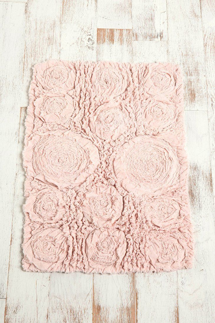 bed of roses bath mat urban outfitters shabby chic