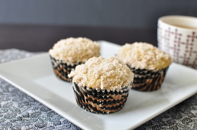 Roasted Banana Muffins | Sweets and Treats | Pinterest