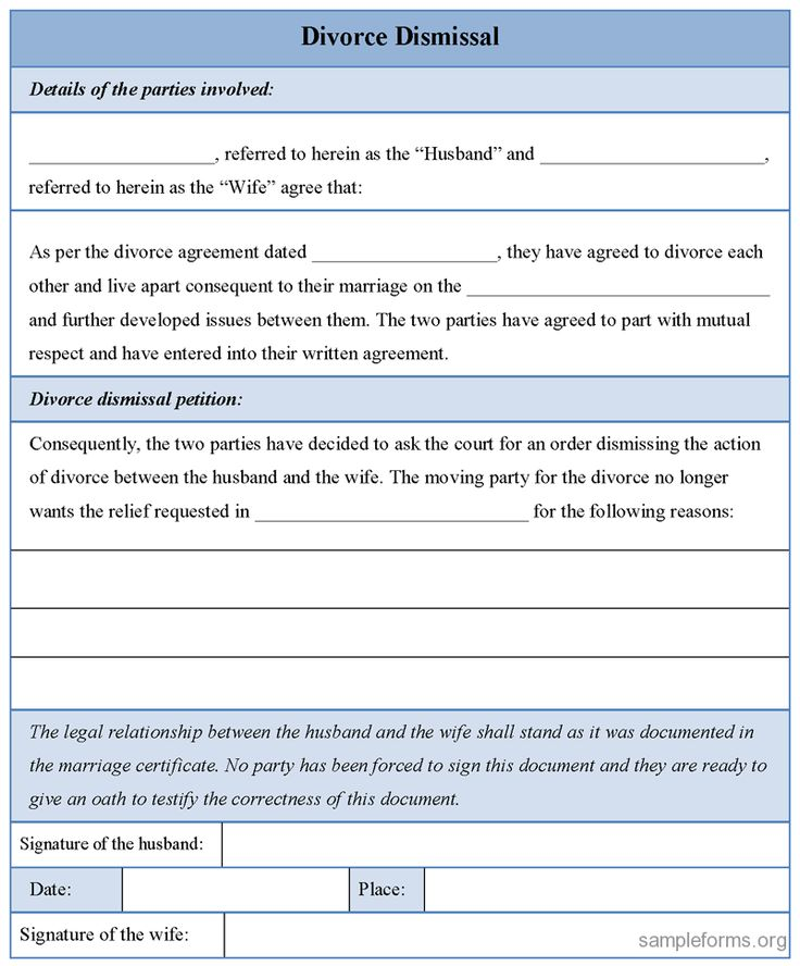 Printable Divorce Papers Template Fake Finalized For Resume Teachers