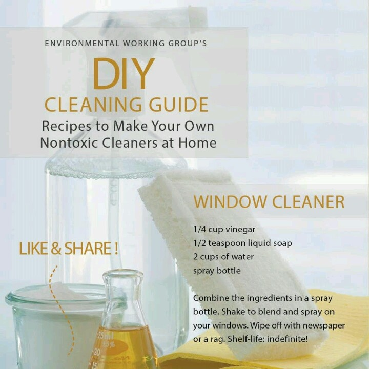 House Cleaning Services Homemade Window Cleaning Solution