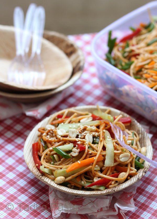 Sesame Noodles | cook it | Pinterest