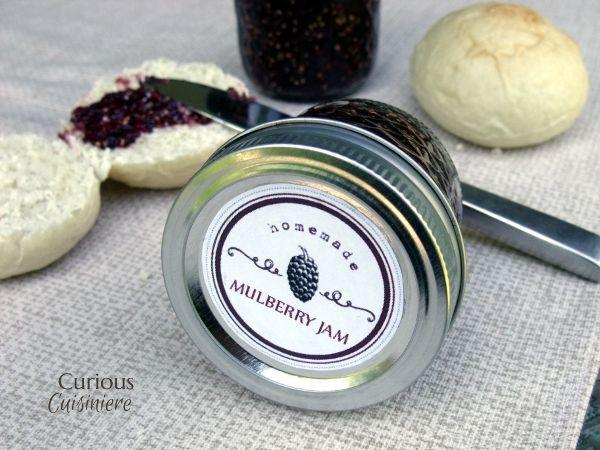 Mulberry Jam #SundaySupper   Recipe