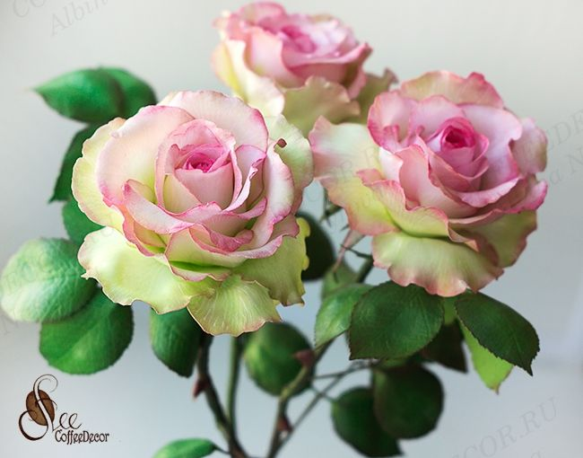 Роза на шпильке фоамиран мастер класс