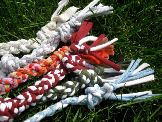 Recycled t shirt rope dog toy a girls best friend for T shirt dog toy