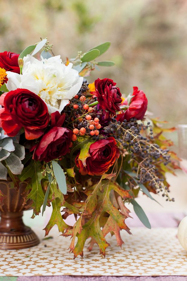10 Ideas for your Thanksgiving Tabletop // Florals by Kelly Cuadra