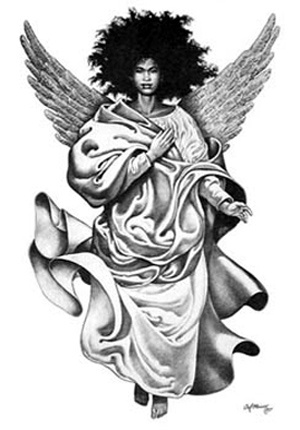 angel nude africa