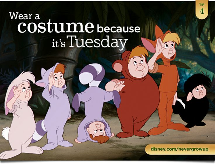Peter Pan Lost Boys