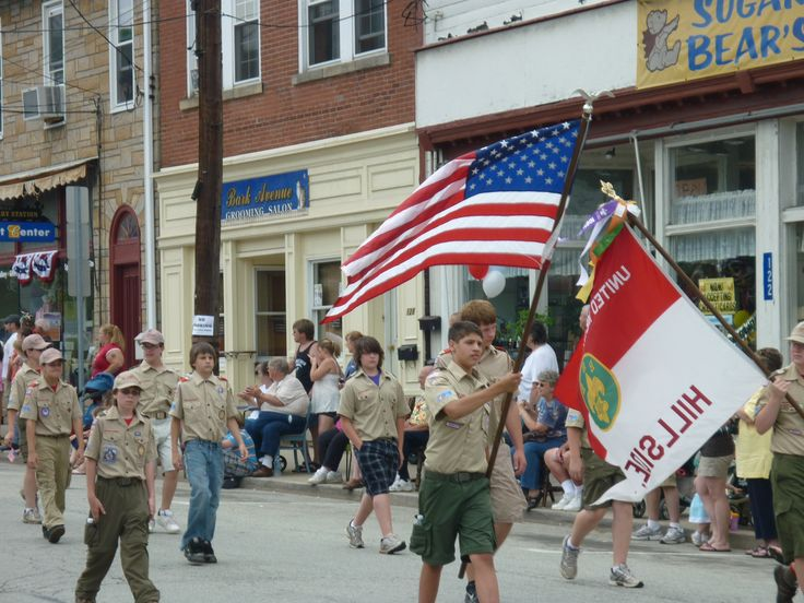 memorial day parade jenison mi