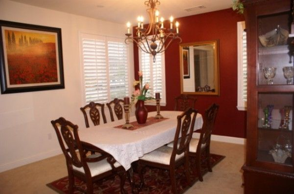Best formal dining room paint colors home dining for Best color to paint a dining room