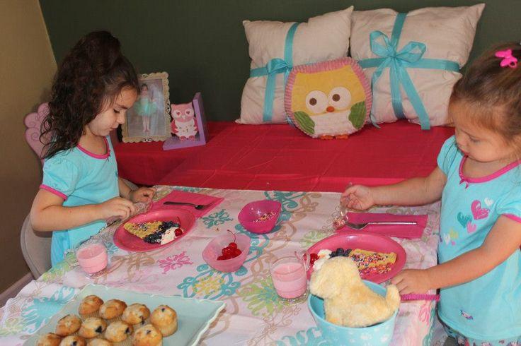 Night Owl Pajama Party Theme Ideas