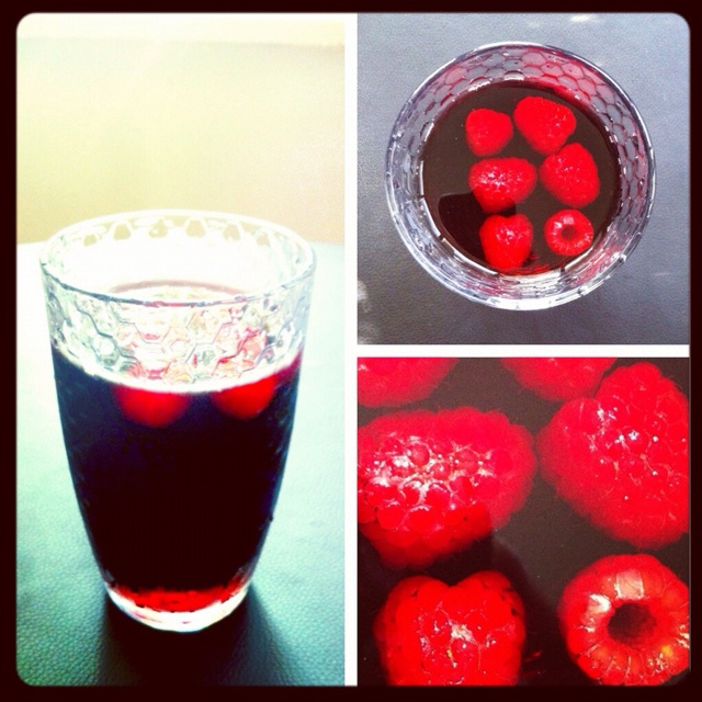 Raspberry sangria | Food and Drink | Pinterest