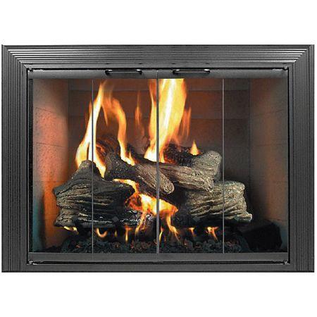 D 233 cor fireplace glass door for the home pinterest