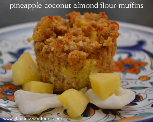 gluten free pineapple coconut muffins | i want to eat this | Pinterest