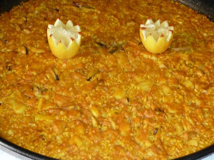arroz a banda | Restaurant Els Angels | Pinterest