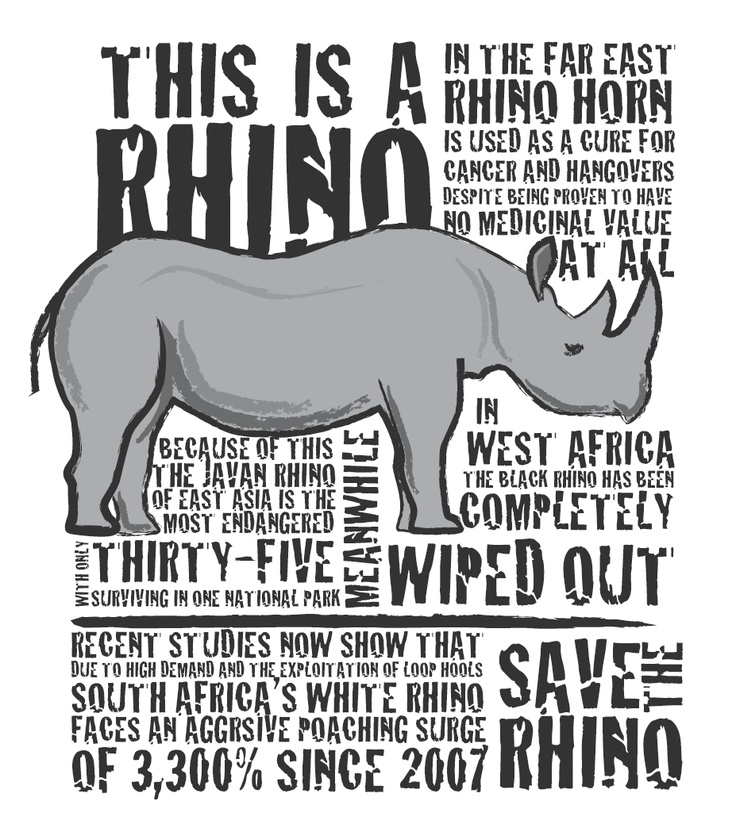 saving the rhinos Past with making a dramatic saving  they should be encouraged to keep their rhinos alive and save the horns until such time they can be used along.