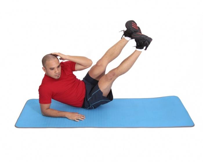 Oblique-V-UPS Ob...V Ups Exercise