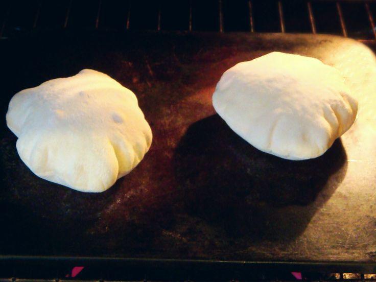 Homemade Pita Bread | Breads | Pinterest