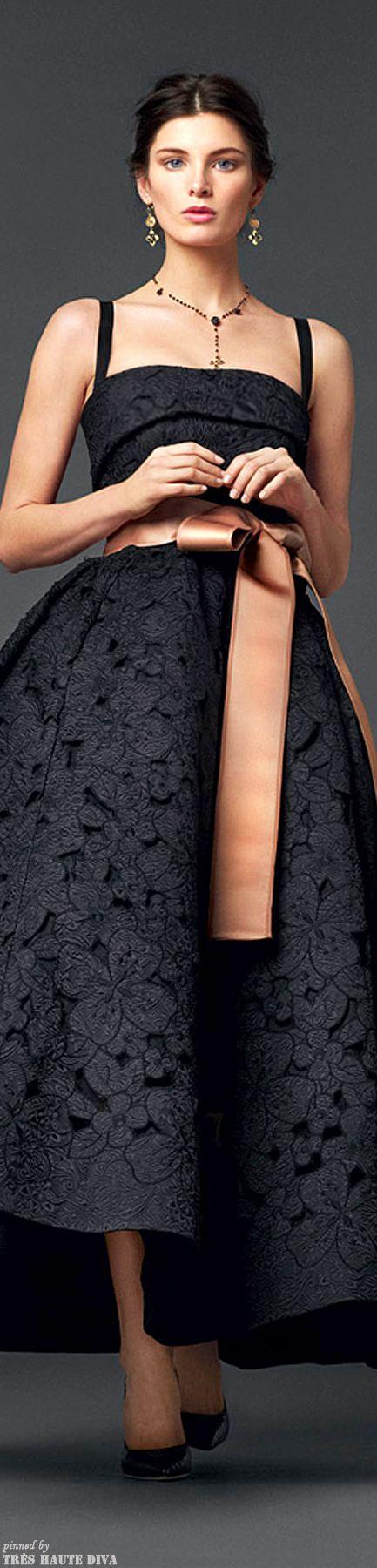 Dolce & Gabbana Зима '14 коллекция # HauteCouture